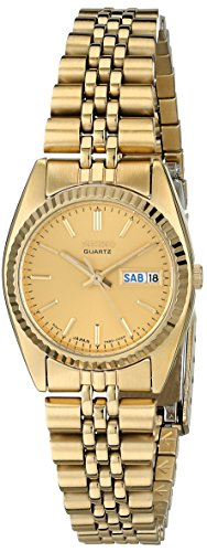 Seiko Women's SWZ058 Dress Gold-Tone Watch