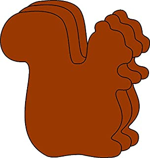 product image for Squirrel Small Single Color Creative Cut-Outs