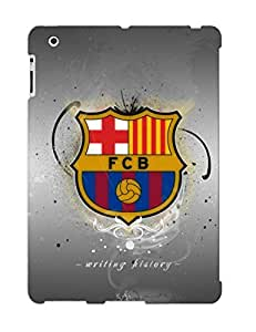 New Diy Design Fc Barcelona Logo For Ipad 2/3/4 Cases Comfortable For Lovers And Friends For Christmas Gifts
