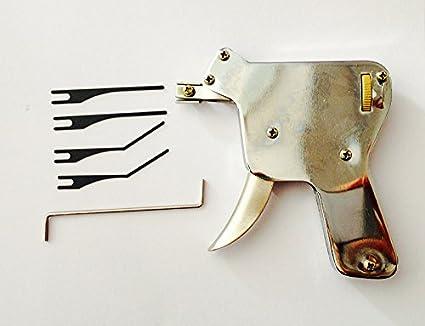 TPM Go multi-Lock Pick Gun con 5pcs consejos, desbloquear cerradura de la puerta