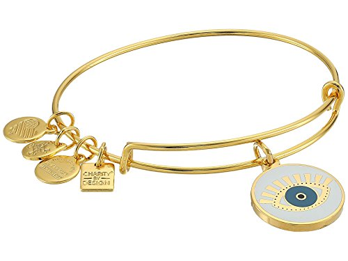 - Alex and Ani Women's Charity by Design Meditating Eye Color Infusion Bangle Bracelet, Shiny Gold