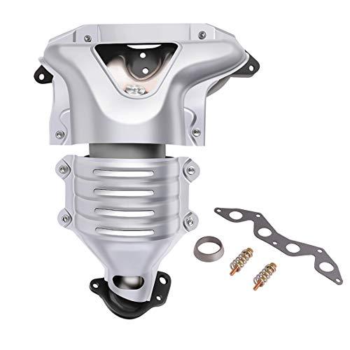 Catalytic Converter w/Exhaust Manifold for 2001-2005 Honda Civic 1.7L 2-Door 4-Door (EPA Compliant) ()