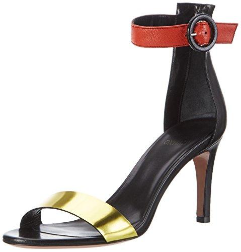 Toe Open Sandals Schwarz Oxitaly Nero 120 Safiana Women's Zq6IRTg
