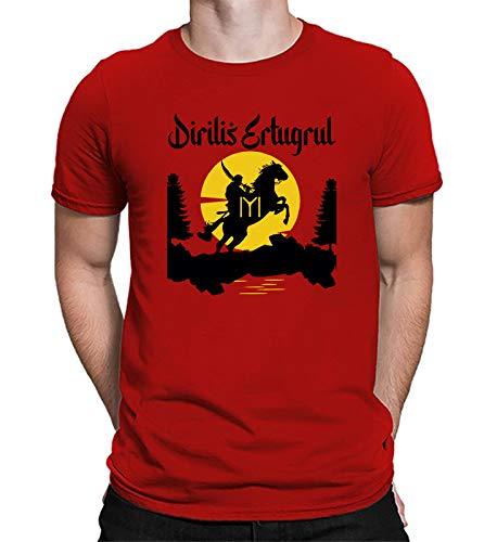 UNIQUE STORE Limited Edition of Dirilis Ertugrul Gazi T-Shirts for Mens Fresh 2020 Arrival Creation (Red T-Shirt Medium Print White) (B08CZZGMDS) Amazon Price History, Amazon Price Tracker