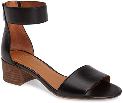 Franco Sarto Fidela 2 Sandalen Met Zwarte Hak Zwart