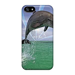 New Arrival Dolphin For Iphone 5/5s Case Cover