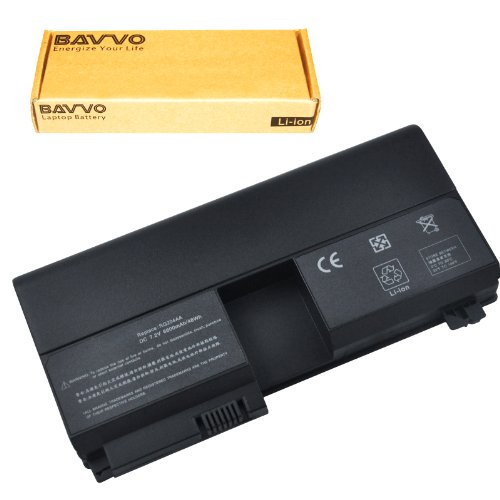 Bavvo 6-Cell Battery Compatible with Pavilion tx2500z (Hp Tx2500z Battery)