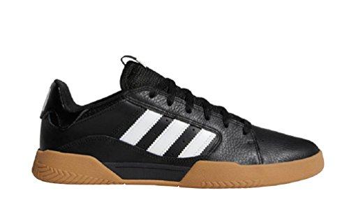 adidas Originals Men's Vrx Low Skate Shoe, Black/White/Gum, 10 M US (Shoes Mens Skateboard Low)