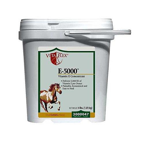Vita Flex E-5000 Premium Quality Vitamin E Horse Supplement, 128 Day Supply, 4 Pound by Vita Flex (Image #1)