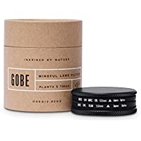 Gobe Filter Kit 52mm: UV + CPL Polarizer