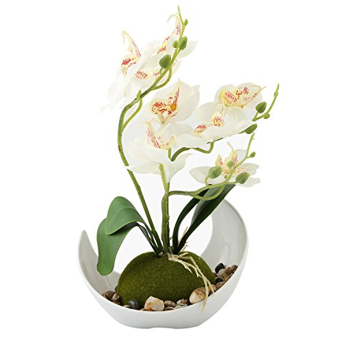 Artificial Decoration Synthetic Orchids Planter