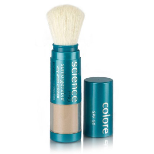 Colorescience Sunforgettable Brush-On Suncreen SPF 30 - Medium 0496202