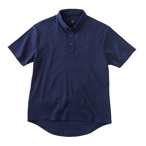 レリック ボタンダウンポロシャツ ネイビー 0   B01JYBDNMM