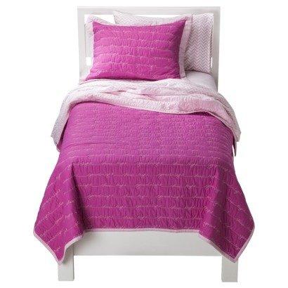 Circo® Pretty Pink Goodnight 2 Piece Quilt Set