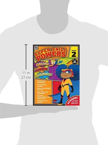 Super Skill Powers, Grade 2: Thinking Kids, Carson-Dellosa ...