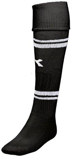 Diadora Treviso Soccer Socks, Large, Black