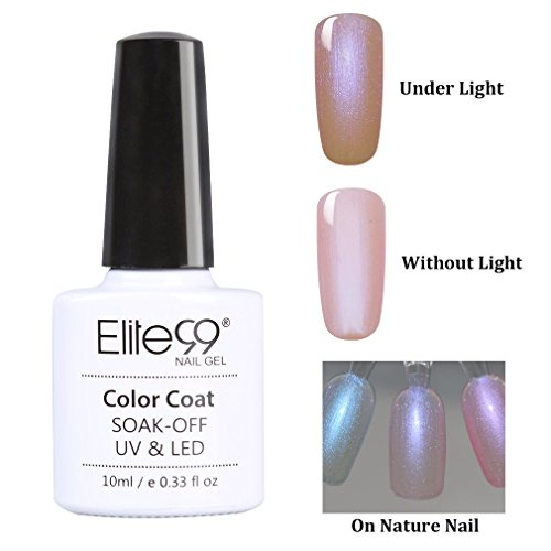 Elite99 Nail Gel Polish Shell Beach UV LED Soak Off Color Manicure Art 10ml 9509