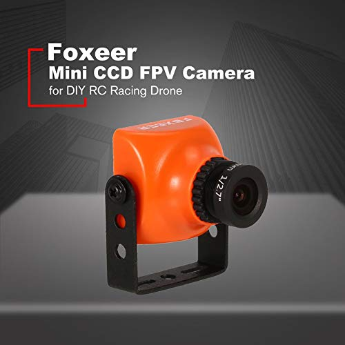 Wikiwand Foxeer XAT600M 600TVL CCD Mini FPV Camera 2.8mm Lens for DIY RC Racing Drone by Wikiwand (Image #1)