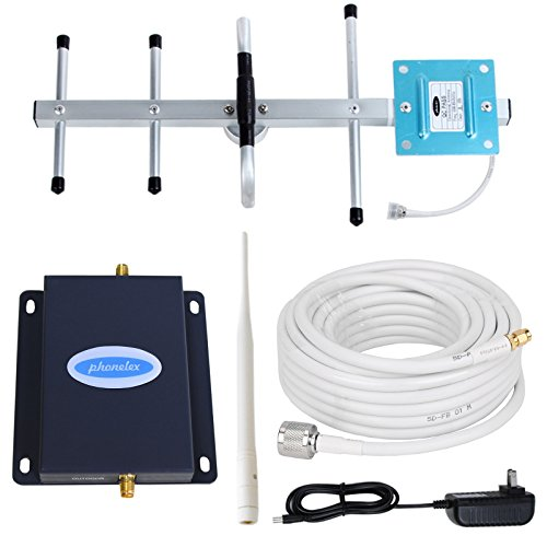 Verizon Wireless Repeater - Phonelex Verizon 4G LTE Cell Phone Signal Booster 700MHz Band13 FDD Mobile Phone Signal Booster Cell Phone Signal Amplifier Wireless Repeater with Whip and Directional Yagi Antennas Kit For Home