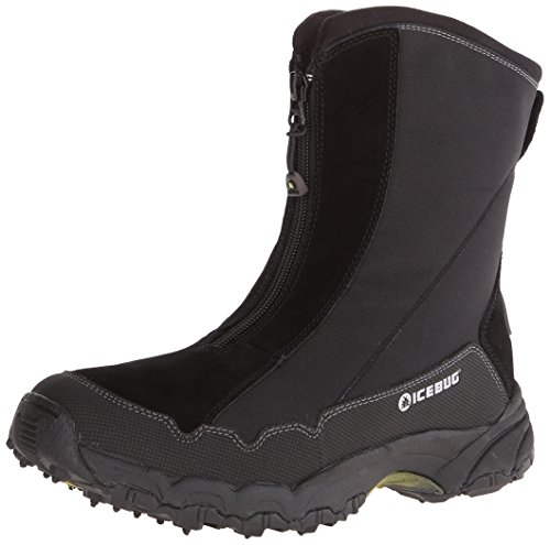Icebug Men's Ivalo BUGrip Studded Traction Winter Boot,Black