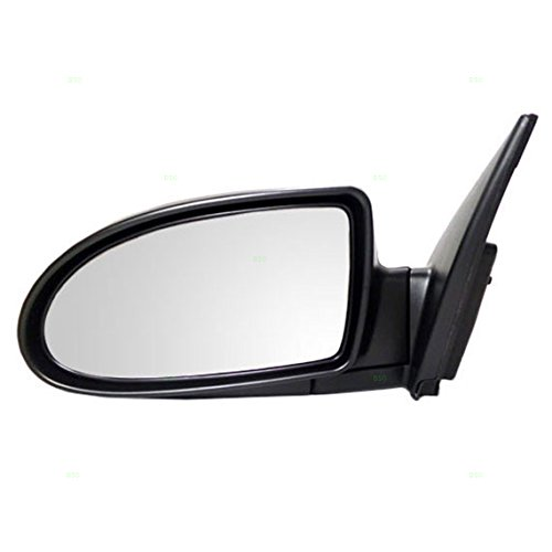 - Drivers Power Side View Mirror Ready-to-Paint Replacement for Hyundai 87610-1E150 AutoAndArt