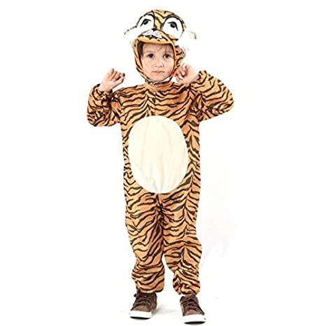 Generique Tigerkostüm für Kinder 98/104 (3-4 Jahre)