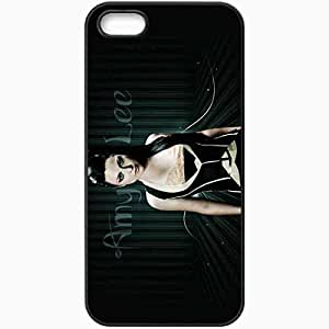 Personalized iPhone 5 5S Cell phone Case/Cover Skin Amy Lee 32178 Black