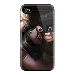 4/4s Scratch-proof Protection Case Cover For Iphone/ Hot Counter Strike Phone Case