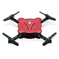 Goolsky FQ17W RC Drone with Camera Live Vedio Wifi FPV Foldable G-sensor Altitude Hold Quadcopter by Goolsky