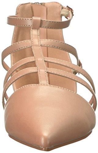 Brinley Co Women's Data Ballet Flat Blush gvfT4rQ62
