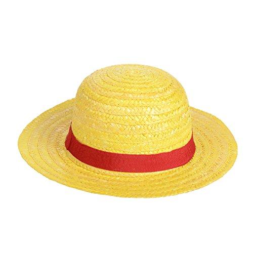 [Luffy Straw Hat Performance Animation Cosplay Hat Yellow] (Zorro Hat)