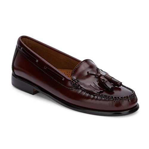 Patent Penny Loafer (Bass G.H Co. Women's Washington Penny Loafer, Burgundy, 9 M US)