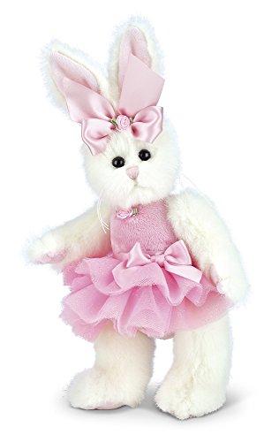 "Bearington Bunni Ballerina Pink Plush Stuffed Animal Bunny with Tutu, 10"" from Bearington Collection"