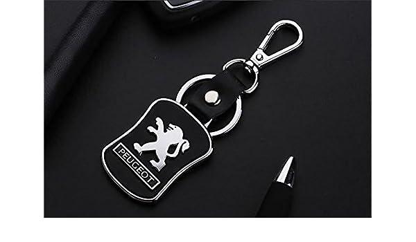 Llavero para llaves de coche, diseño con logotipo de Peugeot ...