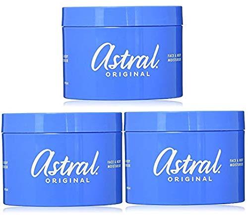 Astral Original Moisturising Cream 500ml (Pack of Three)