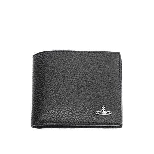 Vivienne Westwood  Men's Milano Credit Card Holder Black One Size