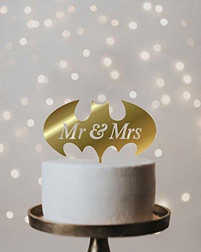 Batman Wedding Cake.Amazon Com Batman Wedding Cake Topper Handmade