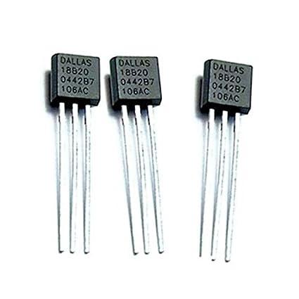 TOOGOO(R) 3x DS18B20 Digital Temperature Sensor for Arduino, Pi