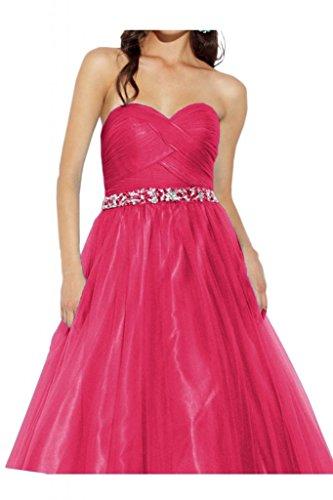 Toscana sposa abiti da sera elegante cuore forma di stella tulle abiti da ballo lunga e dura di promenade del partito viola 40