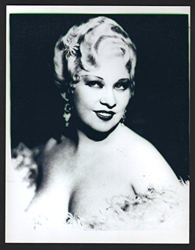 MOVIE PHOTO: Mae West-8x10- B&W- Still