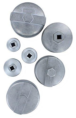 Assenmacher (ASM2101) 7 Pc. Oil Filter Set by Assenmacher Specialty Tools (Image #3)