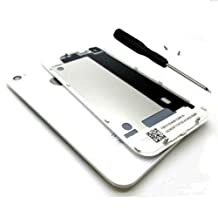 New Battery Back Cover Door Rear Glass Replacement For iPhone 4S White + Tools