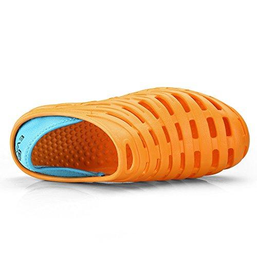 Ryamag Mans Strandklompen Nest Slippers Oranje