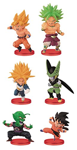 Dragon Ball Z World Collectable Figure WCF Battle of Saiyans Vol.2 6Figures Complete Set Banpresto Japan by World Collectable Figure