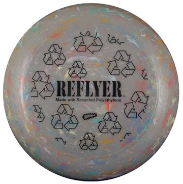 Reflyer Recycled Frisbee disc Set - 3 sizes (Frisbee Recycled)