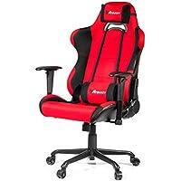 Arozzi Torretta XL Series Gaming Racing Style Swivel Chair, Red