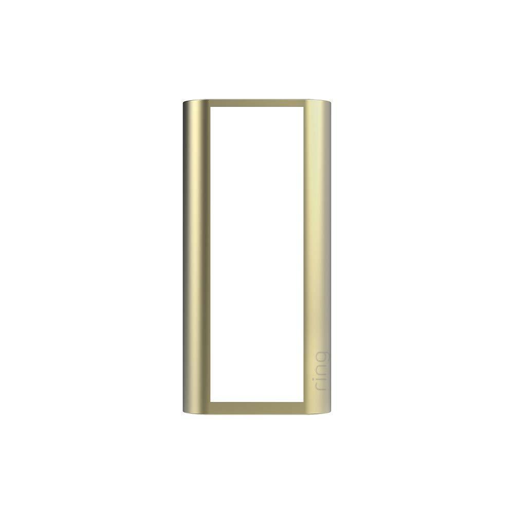Ring Peephole Cam Faceplate - Gold Metal