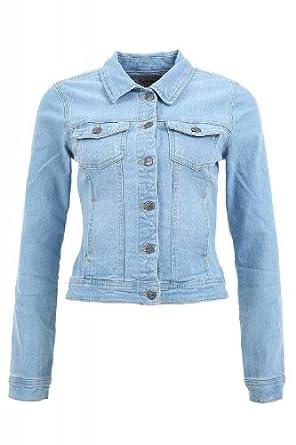 Only Westa Denim Jacket Pim1221 Noos Veste en jean pour femme - bleu ... f2c9c2b952d8