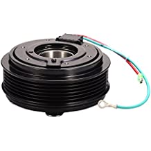 Catinbow AC Compressor Clutch Assembly Repair Kit with Pulley Bearing, Electromagnetic Coil & Plate for Honda Civic 2001-05 1.7L