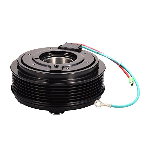 Catinbow AC Compressor Clutch Assembly 38800PLMA021M2 Repair Kit with Pulley Bearing, Electromagnetic Coil & Plate for Honda Civic 2001-05 1.7L ()